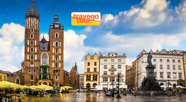 Fotka zľavy: 2-dňový zájazd do romantického Krakova a nákupného centra Nowy Targ len za 79 €. Spojte príjemné s užitočným a spravte si vianočné nákupy v predstihu a užite si aj prechádzku historickým mestom.