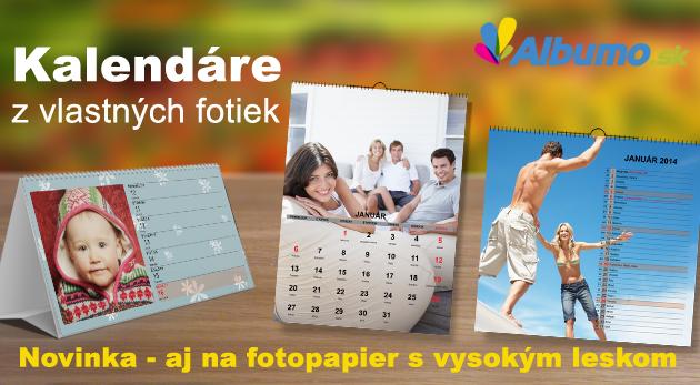 Fotka zľavy: Zvečnite si vaše zábery na fotokalendári vo vysokom rozlíšení a na kvalitnom fotopapieri už od 5,50€! Majte vaše obľúbené tváre a spomienky stále blízko seba!