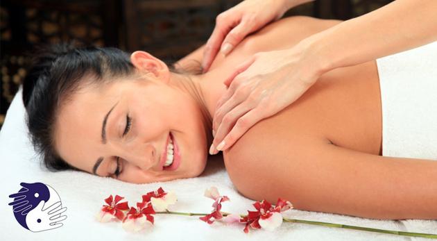 Fotka zľavy: Doprajte si čas na relax a vychutnajte si klasickú 30-minútovú masáž chrbta v Trea centre len za 7,45 €. Uvoľnite sa a dodajte vášmu telu novú energiu!