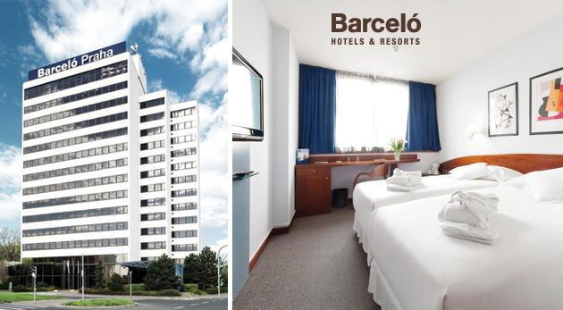 Fotka zľavy: Tri dni v štvorhviezdičkovom hoteli Barceló Praha s raňajkami a večerou len za 61 € pre jednu osobu. Vychutnajte si krásy stovežatej na jeseň, v zime alebo na jar. Pobyt je možný aj cez Vianoce!