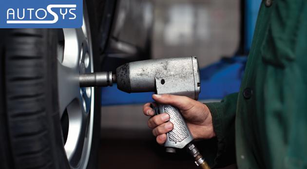 Fotka zľavy: Pripravte svojho miláčika na zimu a zabezpečte si dopredu zimné kompletné prezutie pneumatík alebo výmenu kolies už od 9,90 € v Lamači. Vrátane vyváženia kolies a vyvažovacieho materiálu.