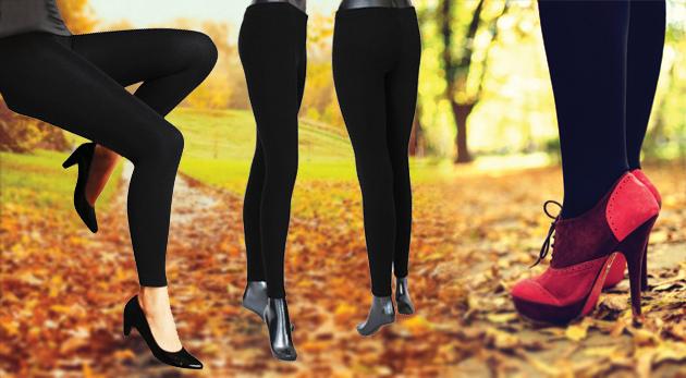 Fotka zľavy: Pánske alebo dámske termo nohavice či pančuchy len za 3,90€. Zabudnite na nepríjemné zimomriavky!