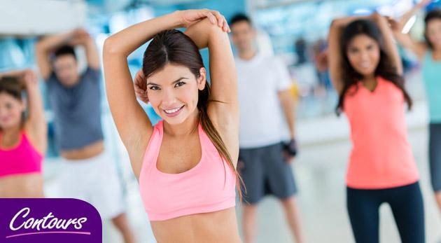 Fotka zľavy: Zacvičte si neobmedzene počas mesiaca v Contours fitness pre ženy len za 28 €. Cvičenie pod dohľadom trénerky a neobmedzené vstupy! Zaraďte sa k ženám, ktorým na sebe záleží!