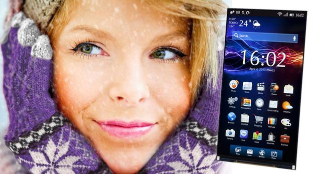 Fotka zľavy: Štýlové zimné rukavice na dotykový displej už od 3,90 €. Ovládajte svoj mobil či tablet bez hrozby omrzlín! Na výber zo 4 farieb.
