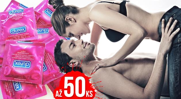 Fotka zľavy: Šteklivé a bezpečné intímne chvíle so značkou Durex ELITE a Durex PLEASUREMAX! Balenie 20 ks kondómov len za 4,99€ a balenie 50 ks len za 11,99€. Osobný odber alebo diskrétne doručenie!