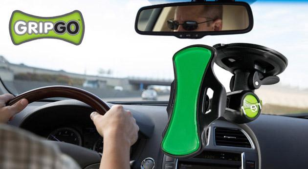 Fotka zľavy: Univerzálny držiak do auta GRIPGO len za 5,49€. Praktická pomôcka pre každého vodiča, ktorá perfektne udrží váš telefón, navigáciu či inú elektroniku v polohe, ktorú si zvolíte!