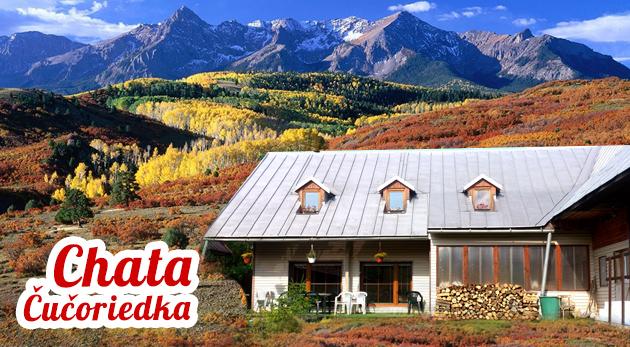 Fotka zľavy: Wellness oddych na 3 alebo 4 dni v malebnej chate Čučoriedka v Nízkych Tatrách so saunou i hydromasážnou vaňou od 19,80€. Pri kúpe 10 kupónov k dispozícii celý objekt súkromne!