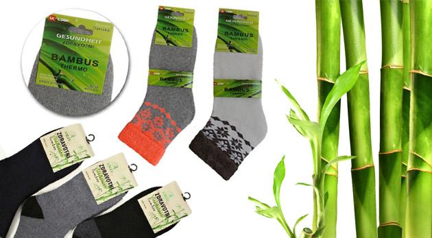 Fotka zľavy: Príjemne hrejivé a úžasne mäkučké bambusové ponožky už od 4,90€. Ochráňte vaše nohy pred nepríjemným chladom kvalitným materiálom! V ponuke dámske aj pánske modely.