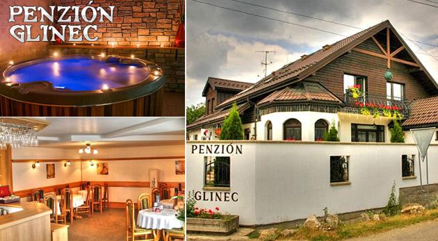 Zľava 60%: Penzión Glinec - vaša vstupná brána k 3- alebo 4-dňovému oddychu v termálnom jazierku či na turistike s polpenziou alebo raňajkami už od 68 € pre dvoch. Objavte skryté krásy východného Slovenska!