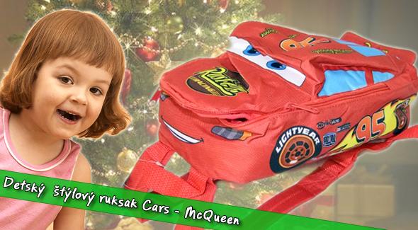 Fotka zľavy: Detský ruksak Cars - McQueen len za 9,90€ (vrátane poštovného a balného). Originálny design v tvare autíčka pre všetky deti za menej!