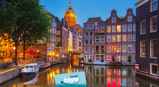 Fotka zľavy: Prekrásne Holandsko môžete obdivovať a spoznávať počas 4 nadupaných dní s CK Toyo Travel len za 129 €. Návšteva metropoly a skanzenu Zaanse Schans, doprava, ubytovanie a poistenie v cene.