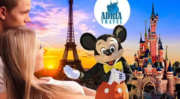 Fotka zľavy: Vydajte sa spoznať čarokrásne skvosty Paríža a navštívte rozprávkový Disneyland počas 5-dňového zájazdu len za 159 € vrátane dopravy, sprievodcu a hotelového ubytovania s raňajkami.