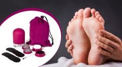 Zľava 73%: Ak sa vám už nechce každý mesiac k pedikérke, opatrite si pedikúru Pedi Pro Deluxe len za 7,99 € a starajte sa o vaše chodidlá v pohodlí vášho domova! Bezpečné a jednoduché použitie.