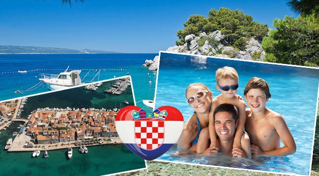 Fotka zľavy: Využite skvelú first minute ponuku a užite si jedinečnú chorvátsku atmosféru počas 8 dní v mestečkách Vodice alebo Tribunj už od 65€. Ubytovanie blízko mora. Ideálna dovolenka pre rodinky s deťmi!
