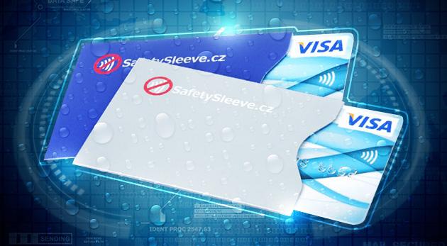 Fotka zľavy: Ochranný obal na bankomatovú kartu s ochranným štítom pred RFID signálom len za 1,90€. Chráňte svoje peniaze a buďte pred zlodejmi o krok vpred!