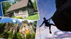 Zľava 42%: Rodinný výlet do lona prírody na 3, 4 alebo 6 dní s polpenziou a ubytovaním v moderných chatkách Zděřina pri Adršpachu už od 48€. Naberte stratenú energiu v tichu a zeleni!