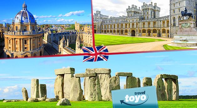 Fotka zľavy: Anglicko strátka musíte zažiť! 5-dňový poznávací zájazd do kozmopolitného Londýna vrátane návštevy kráľovského Windsoru, pravekého Stonehenge a univerzitného Oxfordu len za 229 €.