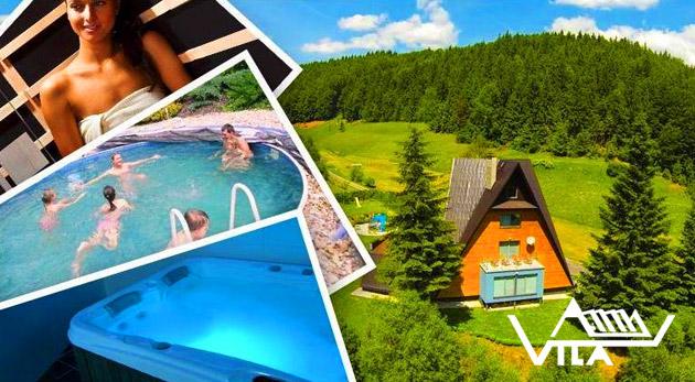 Fotka zľavy: Zoberte rodinku či priateľov do atypickej Vily Anna na Moravu s izbami navrhnutými architektom a užite si 3, 4 alebo rovno 6 nezabudnuteľných dní už od 74 €. Navyše aj vstup do wellness či bazéna.