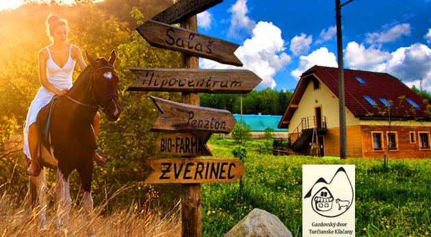 Fotka zľavy: Užite si pár dní v harmonickom spojení s prírodou v Penzióne sv. Mitro už od 79 € pre dvoch. Očarujúce prostredie, aktivity pre deti, plavba na pltiach či jazda na koni - vysnená idylka v Malej Fatre!