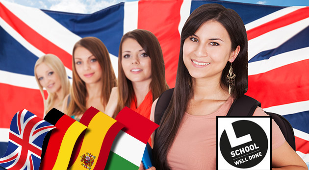Fotka zľavy: Dohovorte sa v zahraničí bez problémov vďaka 5-týždňovým jazykovým kurzom iba za 27,90 €. Naučte sa angličtinu, nemčinu, španielčinu či taliančinu v skupinke s max. 5-8 študentami!
