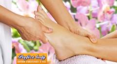 Zľava 64%: Reflexná masáž chodidiel v trvaní 30 minút len za 6,90 €. Zbavte sa bolesti a zrelaxujte sa v príjemnom prostredí salónu Perfect Body!