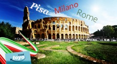 Zľava 30%: Objavte jedinečné Taliansko v rámci 5-dňového zájazdu s CK Toyo Travel. Navštívte nádherné Miláno, Pisu a Rím len za 168 € s ubytovaním, raňajkami, zákonným poistením a službami sprievodcu.