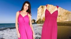 Zľava 40%: Šaty nesmú chýbať v šatníku žiadnej ženy. Doplňte si ho o krásne maxi dlhé šaty Afrodita len za 14,99 €. Na výber až v 6 farebných prevedeniach!