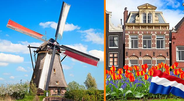 Fotka zľavy: Nechajte sa zlákať do krajiny tulipánov, syrov a veterných mlynov - do Holandska na 4 dni len za 139 € s CK Prima travel. V cene autobusová doprava, sprievodca aj noc v hoteli s raňajkami.