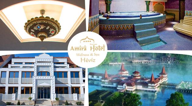 Fotka zľavy: Zažite orient v blízkom Maďarsku - jedinečný relax v luxusnom Hoteli AMIRA**** pri termálnom jazere Hévíz už od 159 € pre dvoch na 3 alebo 4 dni s polpenziou a voľným vstupom do exotického wellness!