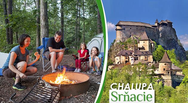 Fotka zľavy: Prenájom tradičnej slovenskej drevenice na Orave už od 85 € na 3 dni. Celá chalupa súkromne a v cene i zľava do aquaparku! Zažite návrat do histórie v rázovitej dedinke Srňacie.