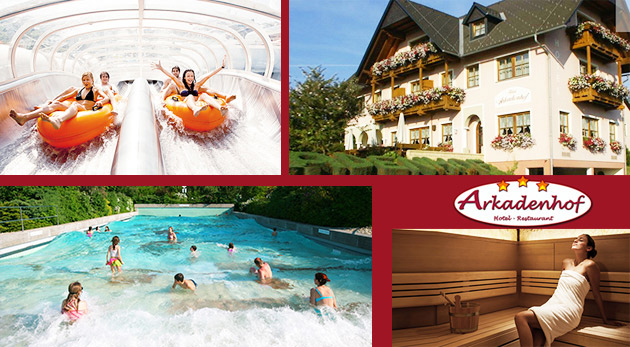Fotka zľavy: Relax v prekrásnom Štajersku v Hoteli Arkadenhof*** už od 79€ pre dvoch s raňajkami, polpenziou či romantickou večerou a masážou. Ubytovanie v blízkosti najväčšieho aquaparku Rakúska s liečivou vodou!