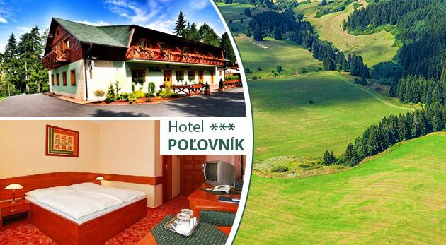 Fotka zľavy: Vychutnajte si 3 oddychové dni v krásnom prostredí Demänovskej doliny v horskom Hoteli Poľovník*** už od 98 € pre dvoch s raňajkami, biliardom, welcome drinkom a možnosťou wellnessu.