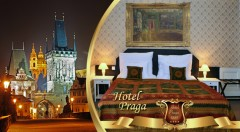 Zľava 50%: Nasajte atmosféru letnej Prahy v rámci pobytu v historickom Hoteli PRAGA 1885**** už od 49,90 € s raňajkami pre dvoch. Variant i s romantickou večerou alebo plavbou po Vltave s obedom alebo večerou.