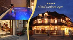 Zľava 49%: Letný wellness relax v komfortnom Hoteli Ködmön**** v kúpeľnom a vínnom meste Eger len za 155 € pre dvoch na 3 dni vrátane polpenzie aj obeda, voľného vstupu do wellness a ďalších bonusov!