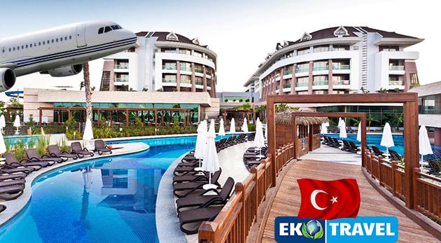 Fotka zľavy: Skvelý 8-dňový letecký zájazd do Turecka s ubytovaním v 5* hoteli Sherwood Dreams Resort už od 250 € s polpenziou, letenkou, výletmi do starobylých miest, využívaním bazénov či tureckých kúpeľov!