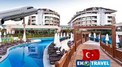 Zľava 40%: Skvelý 8-dňový letecký zájazd do Turecka s ubytovaním v 5* hoteli Sherwood Dreams Resort už od 250 € s polpenziou, letenkou, výletmi do starobylých miest, využívaním bazénov či tureckých kúpeľov!