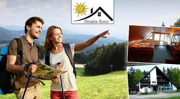Fotka zľavy: Leto v prostredí očarujúcich lesov Kremnických vrchov v Penzióne Horec - Králiky už od 59 € pre dvoch s raňajkami či polpenziou. Variant aj s masážami či relaxom v kúpacom sude!