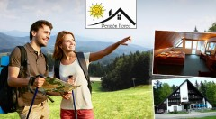 Zľava 42%: Leto v prostredí očarujúcich lesov Kremnických vrchov v Penzióne Horec - Králiky už od 59 € pre dvoch s raňajkami či polpenziou. Variant aj s masážami či relaxom v kúpacom sude!