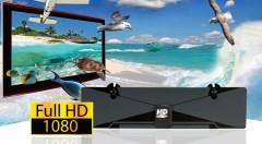 Zľava 58%: Sledujte vaše obľúbené programy v najvyššej kvalite vďaka HD digitálnej anténe len za 7,99 €. Jednoduchá inštalácia a moderný dizajn!
