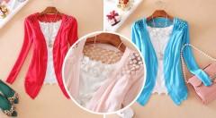 Zľava 75%: Krásny dámsky svetrík s romantickou čipkou a asymetrickým strihom iba za 6,90 €. Osviežte svoj šatník trendy kúskom vhodným na každú príležitosť! Na výber z 5 sýtych farieb.