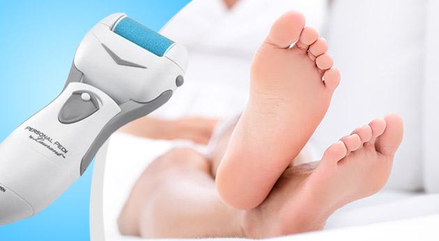 Fotka zľavy: Pre krásnu pokožku vašich nôh už za pár minút použite revolučný prístroj na domácu pedikúru Personal Pedi len za 13,90 €. Ušetríte na návštevách kozmetického salóna!