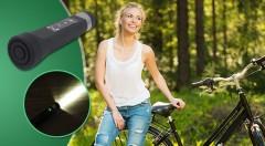 Zľava 50%: Skvelé multifunkčné zariadenie - powerbank, mp3 prehrávač s FM rádiom a svetlo na bicykel v jednom len za 12,90 € bude vaším ideálnym spoločníkom na všetky letné výlety a cesty!