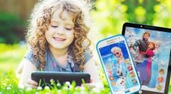 Zľava 54%: Zabavte na dlhej ceste na dovolenku svoje deťúrence detským smartfónom alebo tabletom s motívom Frozen už od 5,90 €. Obsahuje pesničky aj rozprávky v angličitine, ktorú sa tak naučia hravou formou.