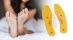 Zľava 49%: Skvelé masážno-magnetické vložky do topánok univerzálnej veľkosti len za 2,50 €, ktoré kombinujú magnetoterapiu a reflexnú akupresúru pre vaše zdravé a vitálne chodidlá!