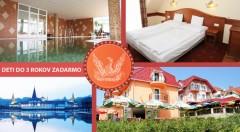 Zľava 46%: Pohodové dni plné oddychu v kúpeľnom meste Hévíz so slávnym liečivým jazerom v Club Hoteli & Wellness Főnix len za 93 € pre dvoch s polpenziou a neobmedzeným využitím wellness. Deti do 3 rokov zdarma!