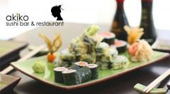 Zľava 44%: Lahodná pochúťka z Japonska - Sushi Maki set v Akiko - Sushi bar & restaurant len za 14,99 €. 24 kúskov japonských sushi delikates plných harmónie chutí.