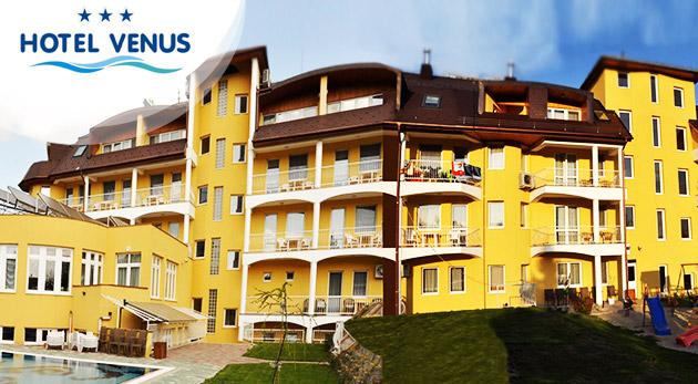 Fotka zľavy: Wellness oddych v Hoteli Venus*** v kúpeľnom meste Zalakaros len za 97 € pre dvoch vrátane raňajok, využívania hotelových Rímskych kúpeľov, večerného kúpania pri sviečkach a ďalších skvelých bonusov!