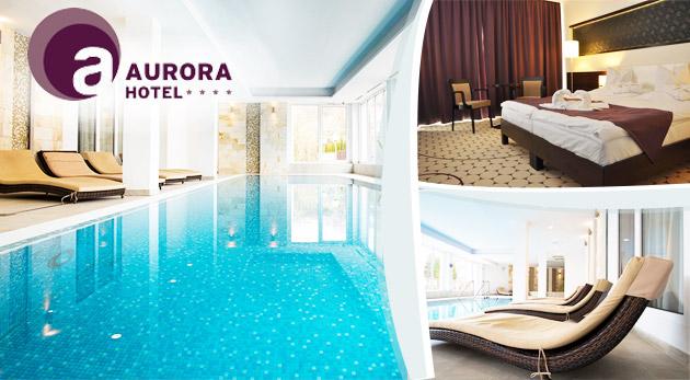 Fotka zľavy: Pohodové 3 dni v elegantnom Hoteli Aurora**** pri maďarských jaskynných kúpeľoch len za 159€ pre dvoch s polpenziou, voľným vstupom do wellness a zľavou na masáže a do kúpeľov! Deti do 6 rokov zdarma.