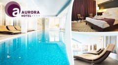 Zľava 43%: Pohodové 3 dni v elegantnom Hoteli Aurora**** pri maďarských jaskynných kúpeľoch len za 159€ pre dvoch s polpenziou, voľným vstupom do wellness a zľavou na masáže a do kúpeľov! Deti do 6 rokov zdarma.