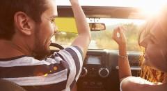 Zľava 75%: Nočná a denná clona do auta s jednoduchým pripevnením iba za 7,50 € vám zabezpečí bezpečnú a komfortnú jazdu pri silnom slnku, hmle, daždi alebo v noci.